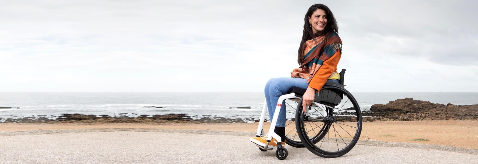 Aktivní mechanický invalidní vozík Küschall KSL 2.0
