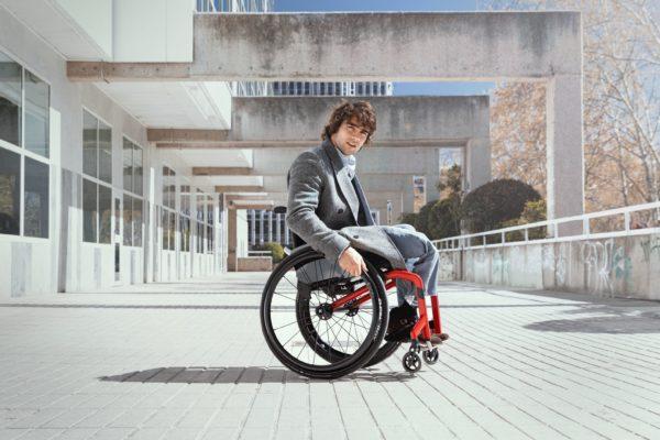 Mechanický vozík aktivní Küschall K-Series 2.0 man 1